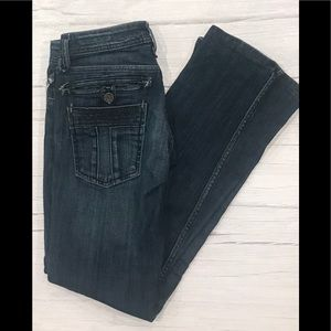 Taverniti Janis 18 boot cut jeans. Size 27